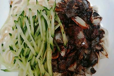 家常韩式炸酱面