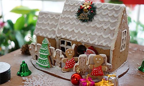 姜饼屋(每一个圣诞节都会盖的房子)的做法