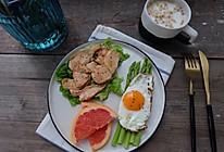 健康减脂早餐—香煎鸡脯肉的做法