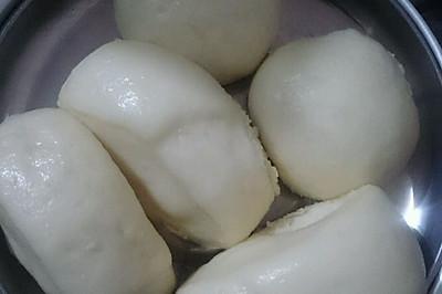 牛奶馒头(简易家常版)