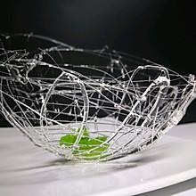 拔丝鸟巢#我爱烘培#美丽的艺术品