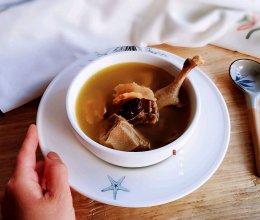 #换着花样吃早餐#滋补清凉的天麻老鸭汤的做法