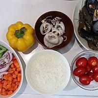 #硬核菜谱制作人#西班牙至尊海鲜烩饭的做法图解5