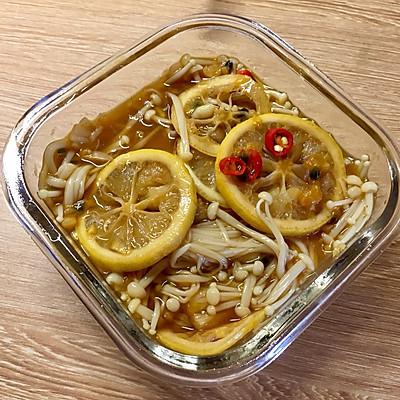 泰式酸辣金针菇/鸡爪