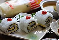 #丘比沙拉酱#の反转寿司的做法
