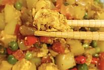 咖喱土豆胡萝卜烧鸡肉的做法
