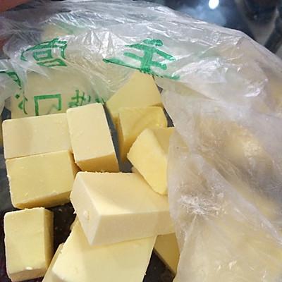 酥脆蛋挞皮制做的做法 步骤1