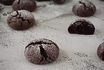巧克力裂纹布朗尼曲奇饼干的做法