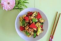 #以美食的名义说爱她#干锅花菜的做法