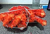 帝王蟹的拆解过程的做法