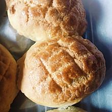 #金像预拌粉#    港式菠萝包(广式酥皮面包)