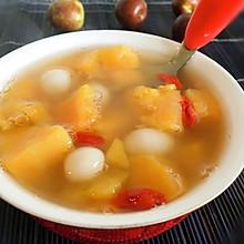 红薯小圆子汤