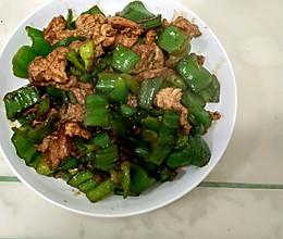 麻椒炒肉的做法
