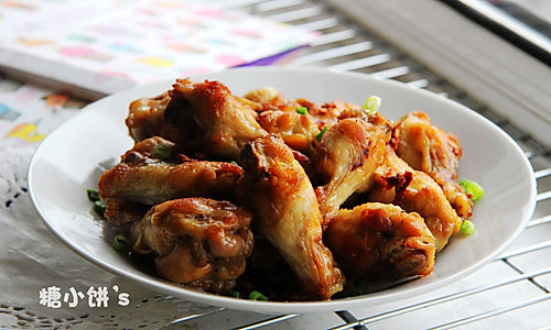 【葱油姜炒鸡翅】的做法
