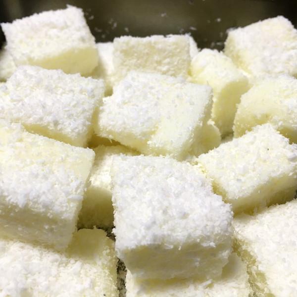 奶油小方的做法