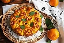 南瓜面包花的做法
