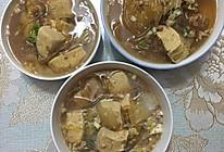 肉沫白菜炖冻豆腐与粉条的做法