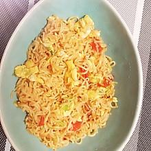 鸡蛋西红柿炒方便面