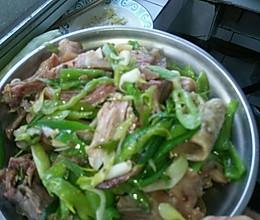 回锅羊头肉的做法