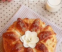 国王皇冠大面包的做法