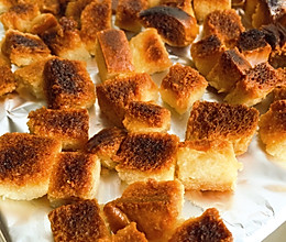 奶油甜面包块儿的做法