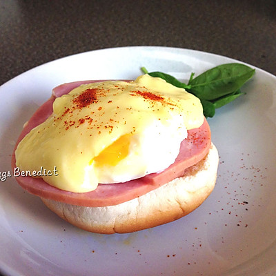 【美式经典早餐】班尼迪克蛋 Eggs Benedict