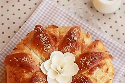 国王皇冠大面包