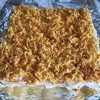 奶油肉松蛋糕卷的做法图解16
