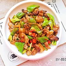 #今天吃什么#青椒炒肉#麦子厨房美食锅#