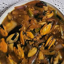 洋葱肉糜淡菜