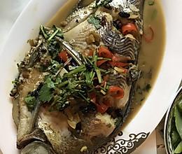 豆豉武昌鱼的做法