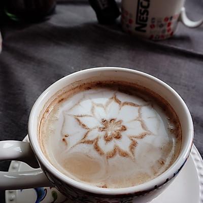 #变身咖啡大师之花式咖啡牛奶