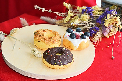百变淡奶甜甜圈#跨界烤箱,探索味来#