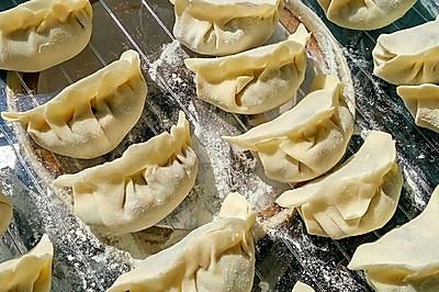 猪肉虾仁芹菜饺子