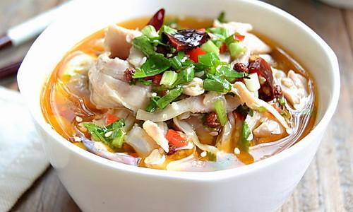 椒麻手撕鸡——冬季暖身的做法