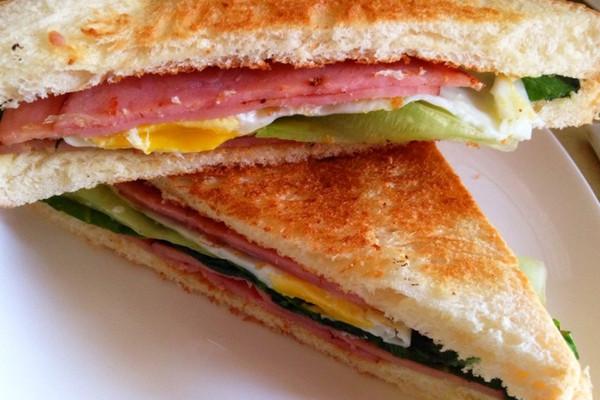 健康低卡三明治的做法