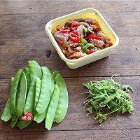 #花10分钟,做一道菜#麻辣章鱼炒荷兰豆的做法图解2