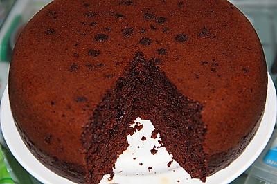 电饭锅版简易巧克力蛋糕