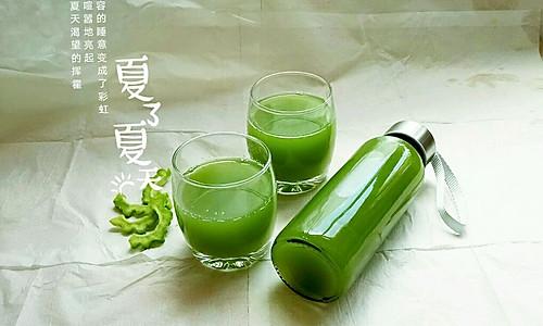 苦瓜黄瓜蜂蜜汁的做法
