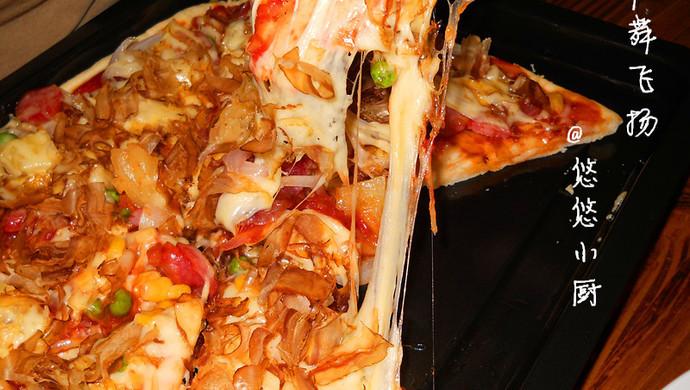 轻舞飞扬~自制披萨(含披萨皮,披萨酱制作方法)