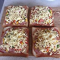 早餐吐司披萨(超简单)的做法图解6