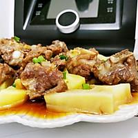 土豆蒸排骨的做法图解11