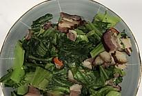 芥菜炒腊肉的做法