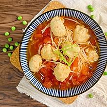 无油低卡番茄鸡肉丸子汤