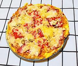 【生酮饮食·真酮】纯鸡蛋披萨,你吃过吗?(减肥食谱)的做法