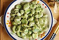 立夏时节蚕豆香:葱香蚕豆的做法