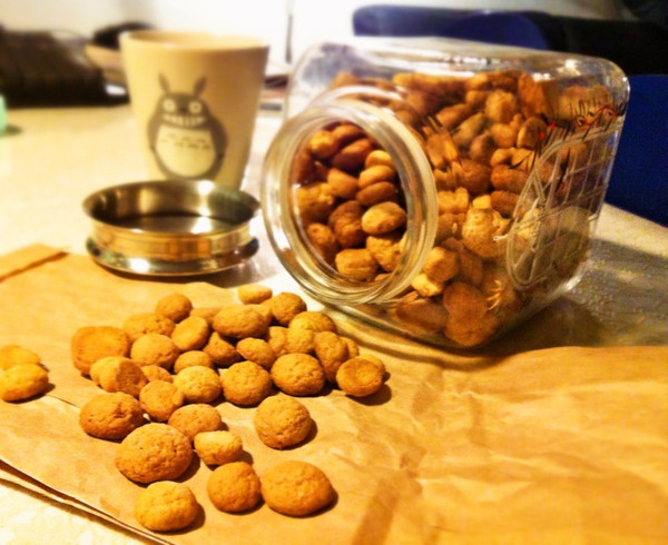 pebernødder丹麦传统小饼干的做法