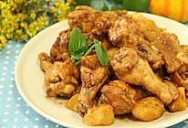 土豆烧鸡翅根的做法