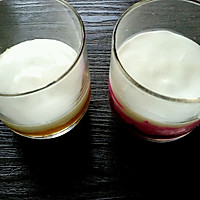 香芒火龙果酸奶杯(高颜美味)的做法图解4