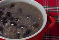 黑豆粟米粥的做法